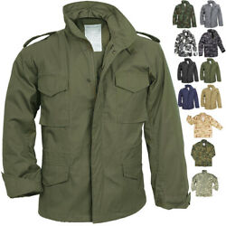 Camo Military M 65 Field Coat Camouflage Army M65 Tactical Uniform Jacket M1965 $88.99