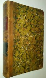 Charles Dickens Household Words Vol I. 1850 Quarter Leather Binding