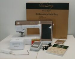 Babylock Destiny Sewing and Embroidery Machine - Fully Serviced + Kit 1