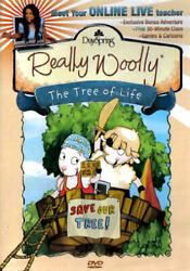 Really Wooly - The Tree of Life (DVD 2009) - Disc Only