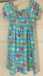 J KHAKI GIRLS BEACH OCEAN VACATION DRESS SIZE 6X 6 X $5.59