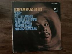 Northern 60's Soul LP-Les McCann-Plays The Hits LS 86041 Stereo