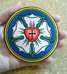 Luther Rose - Lutheran - Faith - Christian - Crafts - Embroidered Iron On Patch