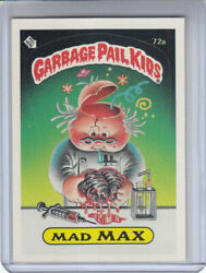 1985 GARBAGE PAIL KIDS SERIES 2 CARD #72a MAD MAX ( TWO STAR BACK ) $4.99