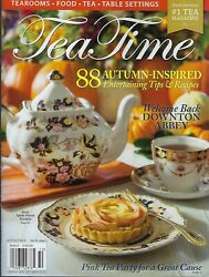 Tea Time    October 2019