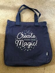 Creative Memories new large limited edition scrapbook canvas tote bag Create