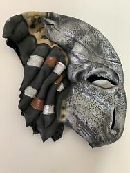 Predator Halloween Mask Monster Scary Dress Up Good Condition Preowned $13.98