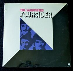 THE SANDPIPERS-FOURSIDERS-JAZZEASY LISTENING-1973-SP3525-SEALED LP