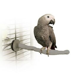 K&h Pet Products Thermo-perch Heated Bird Perchmedium Gray 1.25