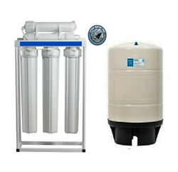 RO WATER 400 GPD  LIGHT COMMERCIAL LINE-PRESSURE RO SYSTEM WITH 20 Gallon Tank $490.00