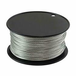 Wire Vinyl Coated 500 Feet 116 Inch Braided Stainless Steel Cable Plastic