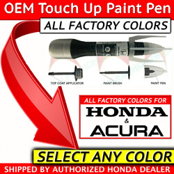 🔥Genuine OEM Acura Honda Touch Up Paint - SELECT YOUR COLOR  ALL COLORS - 08703 $13.20