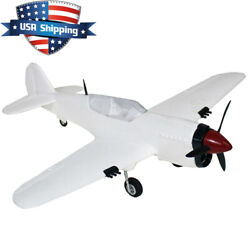 22in Mini Curtiss P 40 Warhawk Warbird Fighter Parkflyer Electric RC Plane Kit $25.00
