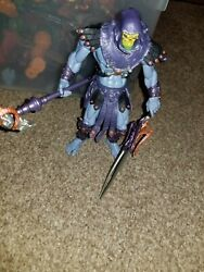 Masters of the Universe 200X Skeletor Figure - 2001 Loose & Complete He-Man