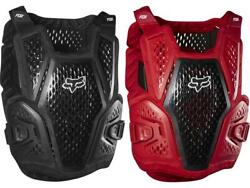 Fox MX Raceframe Roost Black Red Adult Chest Protector Guard Deflector MX ATV 20 $99.95