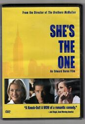 She's the One (DVD 2000) Mike Mcglone Cameron Diaz    *** free shipping ***