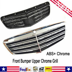 Hot Sale Front Bumper Upper Grill For 2007-2013 Mercedes Benz W221 S-Class