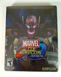 Marvel vs Capcom Infinite Steelbook Deluxe Edition Xbox One SEALED US Version