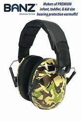Baby Banz Children's Noise Hearing Protection Ear Muffs For Ages 2-10 Camo
