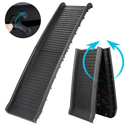 HEAVY DUTY Folding Dog Ramp Pet Ramps for SUV Cars Travel Portable Light Weight $46.99