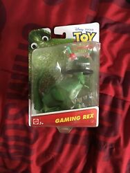 Gaming Rex the Dinosaur Action Figure Disney Toy Story US Seller $25.00