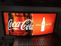 COCA-COLA SODA LIGHTED SIGN - PERFECT FOR THE MAN CAVE OR SHE SHED