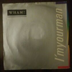 WHAM! - I'M YOUR MAN bw DO IT RIGHT 7