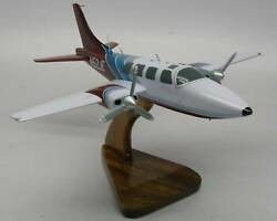 Ted Smith Aerostar 600-601 Airplane Desktop Kiln Dry Wood Model Regular New