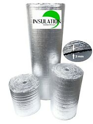 SmartSHIELD -3mm Reflective Insulation roll Foam Core Radiant Barrier Aluminum $15.99