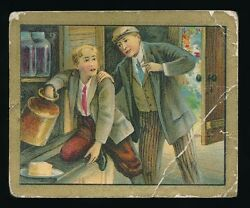 1910 T57 Turkish Trophies FABLE SERIES (51-100) -The Boy & The Filberts