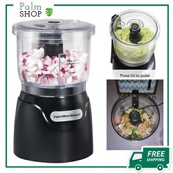 Hamilton Beach (72850) Food Processor Mini Chopper 3 Cup Electric Black NEW