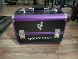 Younique Make-up trunk. Purple. Brand New!