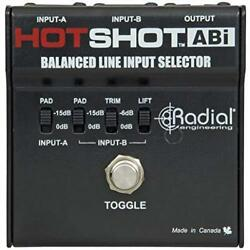 Radial Engineering HotShot ABI Line Input Selector with Heavy-duty construction