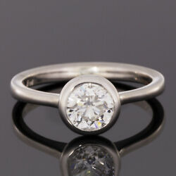 White Gold 1.00ct Round Diamond Solitaire Engagement Ring MSRP: $6580