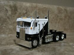 DCP 164 Black White Kenworth K-100 Cabover Semi Truck Farm Toy