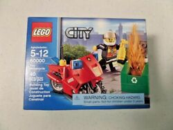 LEGO City Fire Motorcycle Set 60000  New Retired