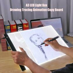 A3 Dimmable LED Tracing Light Box Board Tattoo Drawing PaintingCopy Pad Stencil