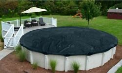 DELUXE Above Ground Round Swimming Pool Winter Covers - 8 Year Warranty $54.29
