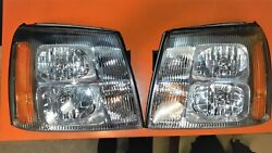 02-07 Cadillac Escalade OEM Headlights - Nice Used