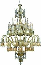 CHANDELIER MAJESTIC TRADITIONAL ANTIQUE HALLWAY FOYER LARGE DINING ROOM