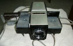 Vintage Manual slide projector collectible portable rare 1960's model