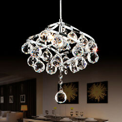 Modern LED Crystal Small Chandelier Aisle Pendant Lamp Hallway Ceiling Lights $49.99