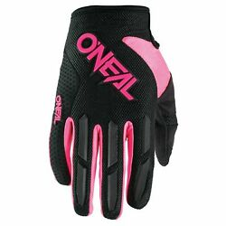 O#x27;Neal Element Youth MX Offroad Gloves Pink Black $22.43