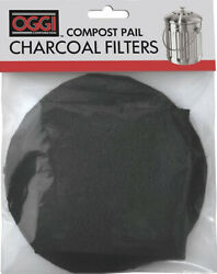OGGI Replacement Charcoal Filters Compost Pails #7320 5427 5448 7700 $9.95