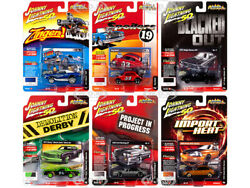STREET FREAKS 2019 RELEASE 3 SET A OF 6 CARS 164 BY JOHNNY LIGHTNING JLSF014 A