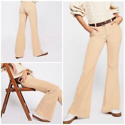Free People Vintage Cord Flare Pants Size 24 New $58.00