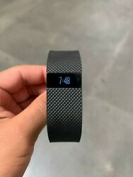 Fitbit Charge Wireless Activity Wristband - Large Black