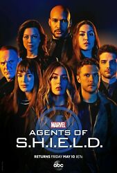 Agents of S.H.I.E.L.D.Season 6 SIX (DVD3-Disc) SEALED BRAND NEW