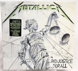 And Justice For All Metallica Double Vinyl Record LP New Sealed Remastered