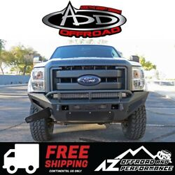 ADD HoneyBadger Front Bumper w Storage Box For 11-16 Ford Super Duty F250 F350